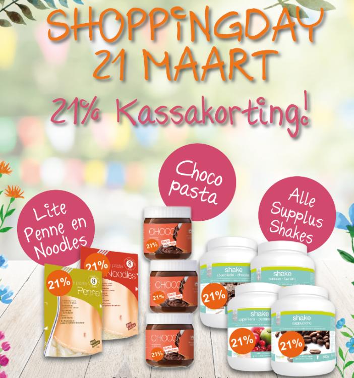 Zensation Actie - Donderdag 21 maart Lignavita  Shopping Day