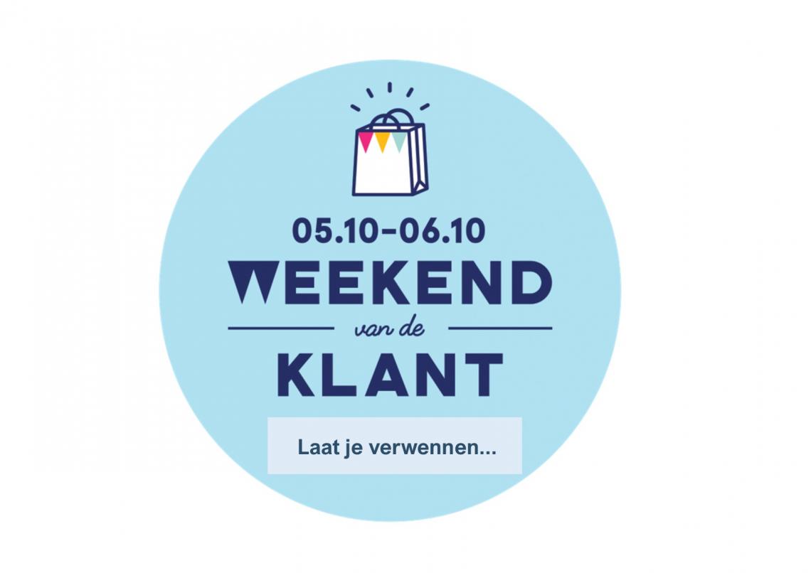 Zensation Actie - Weekend van de klant: 5 en 6 oktober