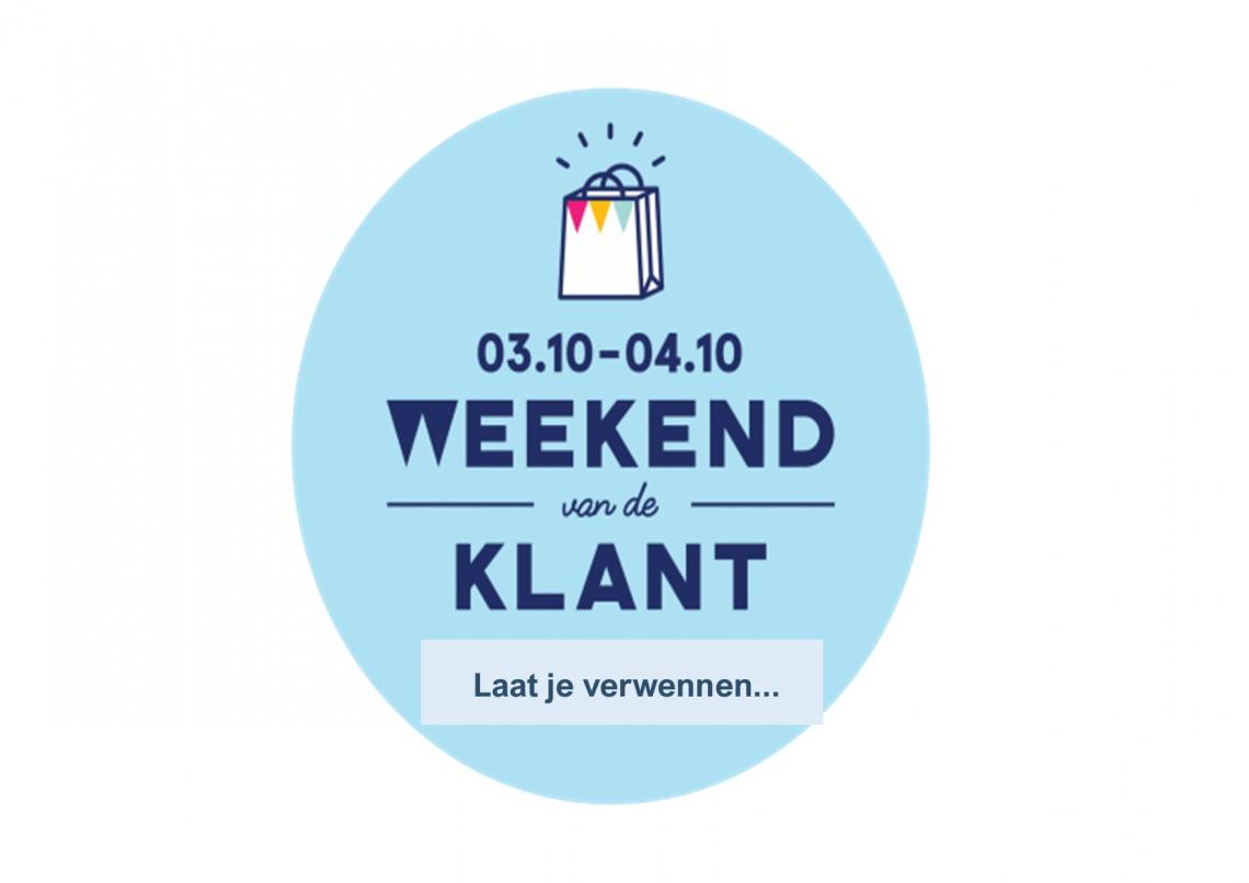 Zensation Actie - Weekend van de klant: 3 en 4 oktober